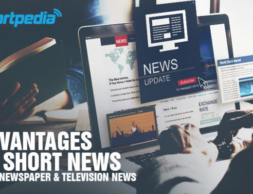 Advantages of short news over newspaper and television news